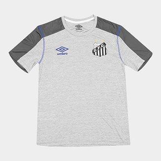 Camisa Santos 2019 Aquecimento Umbro Masculina 5965be97b0358
