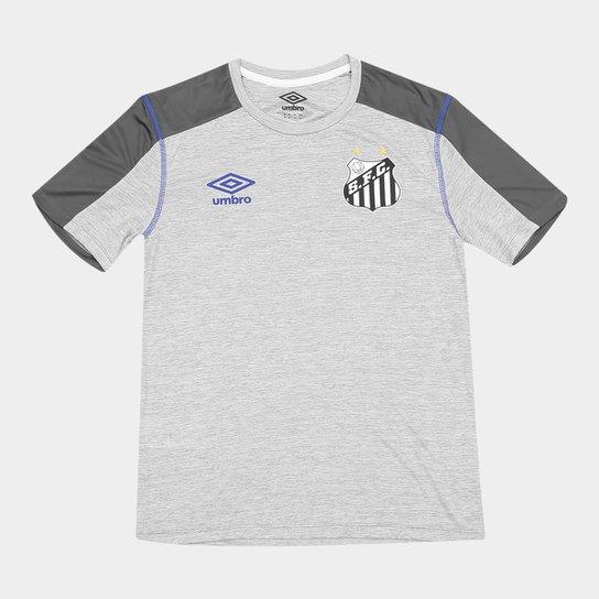 008460389c Camisa Santos 2019 Aquecimento Umbro Masculina - Cinza - Compre ...