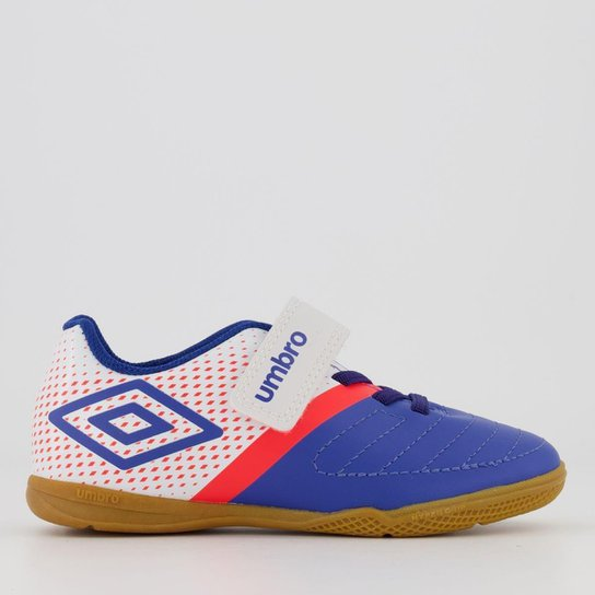 Chuteira Futsal Infantil Umbro Spirity - Azul - Compre Agora  19a4a17700d5a