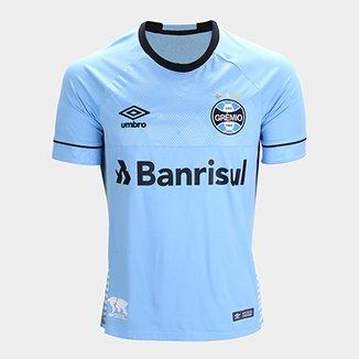 34305e79d Camisa Grêmio II 2018 s n° Charrua C  Patrocínio - Torcedor Umbro Masculina