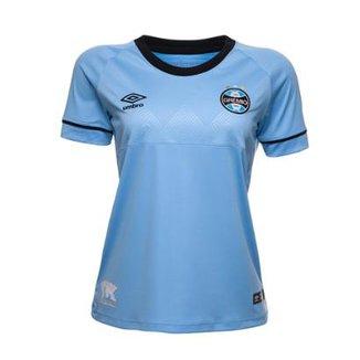0ddea2f72 Camisa Feminina Oficial Umbro Grêmio Charrua 2018