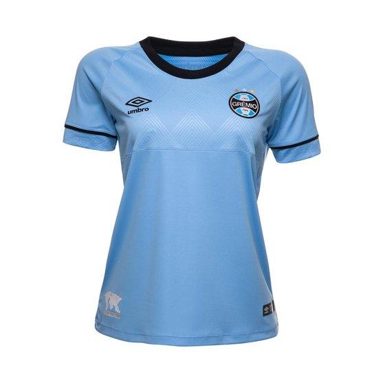 282927297 Camisa Feminina Oficial Umbro Grêmio Charrua 2018 - Compre Agora ...