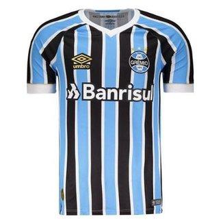 62d81ea4d Camisa Umbro Grêmio Oficial 1 2018 Masculina