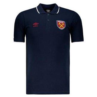 7d901c1bb7 Camisa Polo Umbro West Ham 2018 Masculina