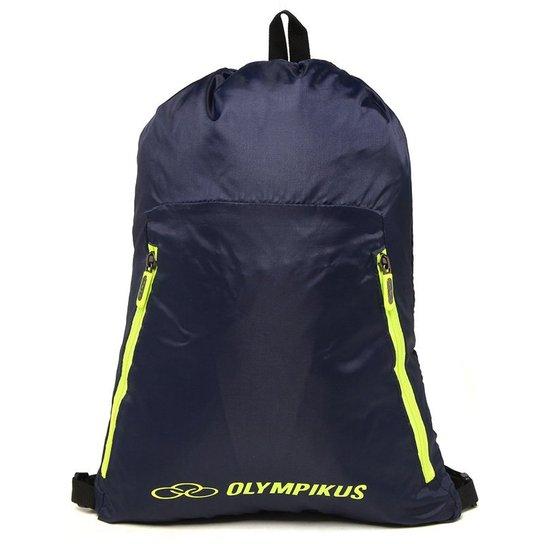 51c3ae7ec Bolsa de Ginástica Olympikus Essential Marinho | Netshoes