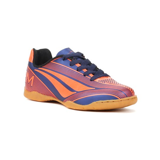 e7f38372be Tênis Infantil Futsal Para Menino Penalty Storm Vi - Coral azul marinho -  Azul