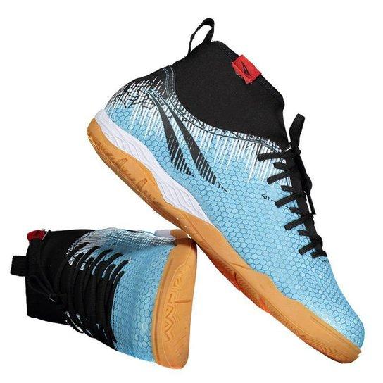 393280153f Chuteira Futsal Penalty S11 Locker Pro IX Masculina - Azul - Compre ...