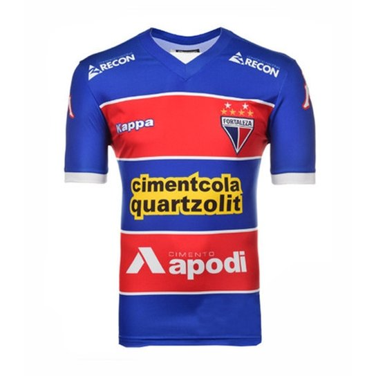 Camisa Fortaleza I - Kappa - 2015 - Compre Agora  678205815f9a6