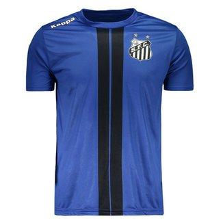 Camiseta Kappa Santos 2017 Dorval cc91a6cd525ec