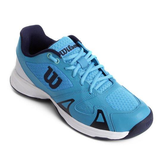 cbdbd07f7a8 Tênis Wilson Smash Pro Masculino - Azul Royal - Compre Agora