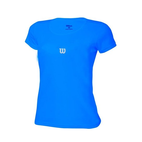20177ea88c546 Camiseta Wilson Core SS Azul Celeste - Azul | Netshoes