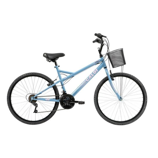f09b24f0b Bicicleta Mobilidade Caloi Ventura Aro 26 21 Velocidades - Azul