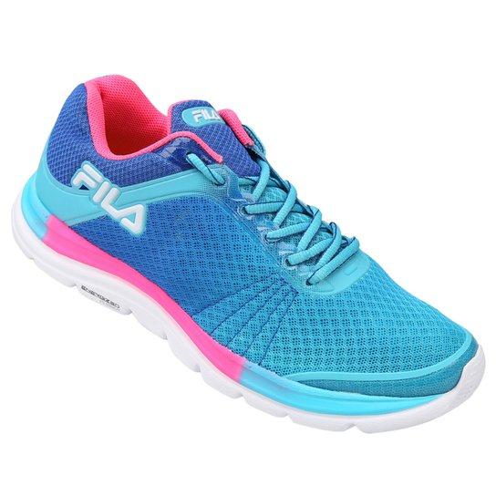 f380633a83 Tênis Fila Softness Feminino - Azul Claro - Compre Agora