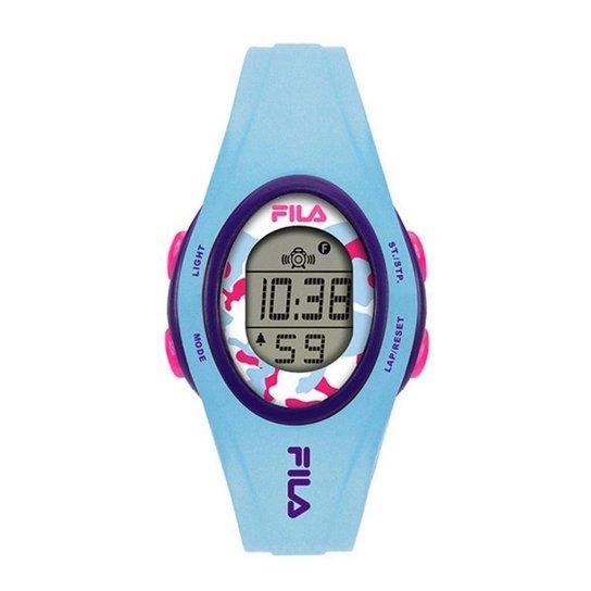 64efb04ae67 Relógio Feminino Fila Digital - Azul - Compre Agora