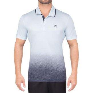 Camisa Polo Fila Aztec Box Print Masculina 6b485ed557a93