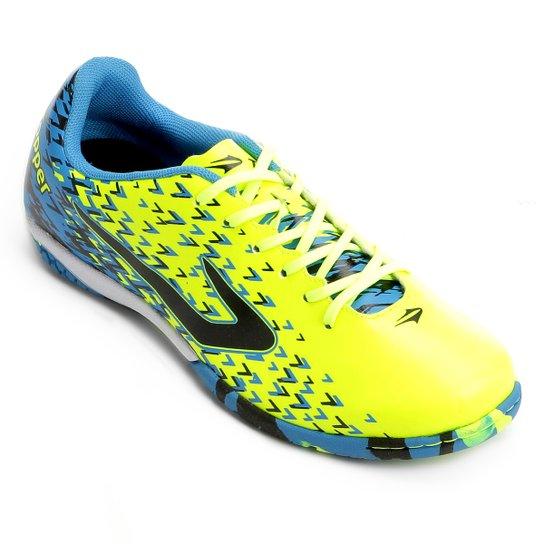 Chuteira Futsal Topper Extreme - Azul e Preto - Compre Agora  846bb9c8434cd