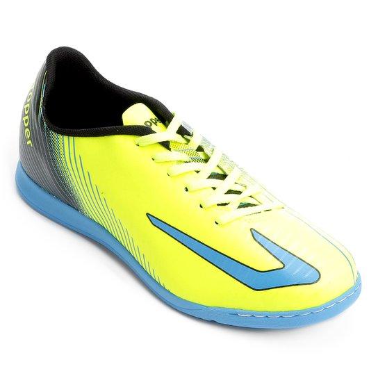 d47809c1a Chuteira Futsal Topper Ultra - Azul
