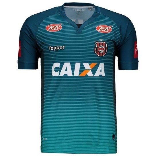 Camisa Topper Brasil de Pelotas Goleiro 2017 Masculina - Azul ... 9f6433c7ffecb