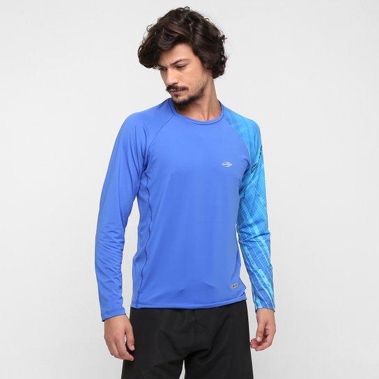ed964cab19783 Camiseta Mormaii Body Fit Proteção UV 50+ M L - Compre Agora   Netshoes