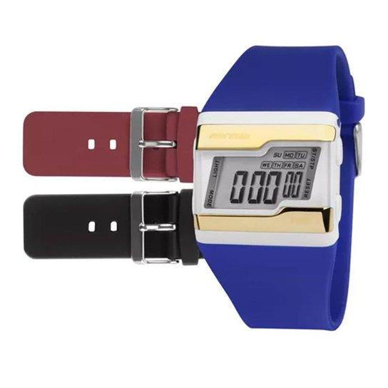 fbb8e3703b2 Relógio Digital Mormaii Troca Pulseiras Fzv 8R - Compre Agora