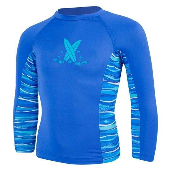 a1d5aa478 Camiseta Lycra Baby Infantil Mormaii - Azul