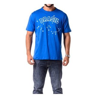 Camiseta Braziline Brasil Araguaia Manga Curta 3f515f45f6aee