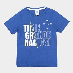 f2a528257c LANÇAMENTO. Camiseta Cruzeiro Infantil Time Grande