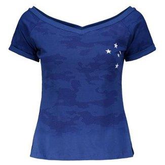 Compre Camisa Feminina de Torcida do Cruzeiro Online  59b4002bf899f