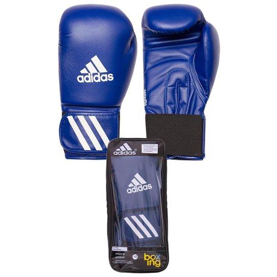 2dcce4963 Luva Boxe Speed 50 - Adidas - 16 OZ - Azul