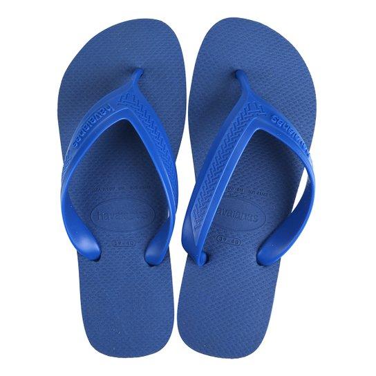 32c1c22c3a7526 Sandália Havaianas Top Max Cf Masculina - Azul - Compre Agora