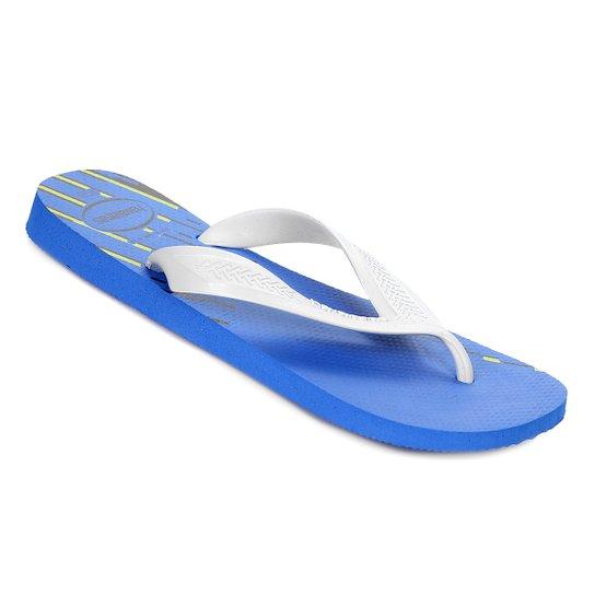 5a23b7ff165c5f Chinelo Havaianas Top Max Basic - Azul - Compre Agora