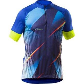 529eb0f2c Camisa Poker Masulina Ciclista Com Zíper Hássio