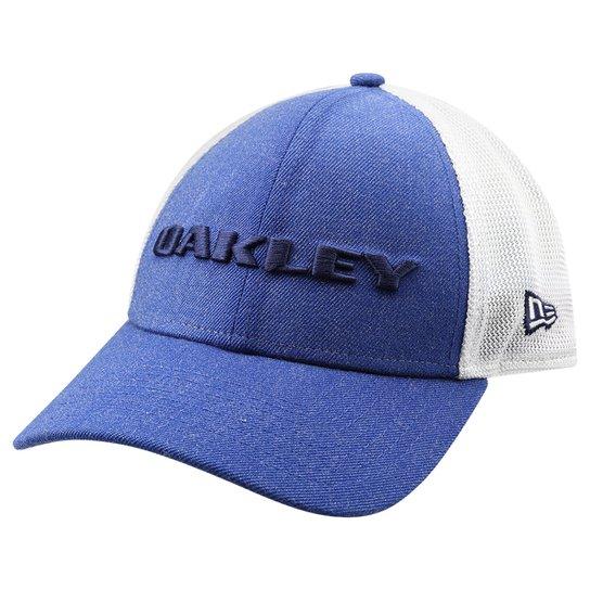 Boné Oakley Heather New Era Snap Back - Azul e Branco - Compre Agora ... e3a4b4f9531