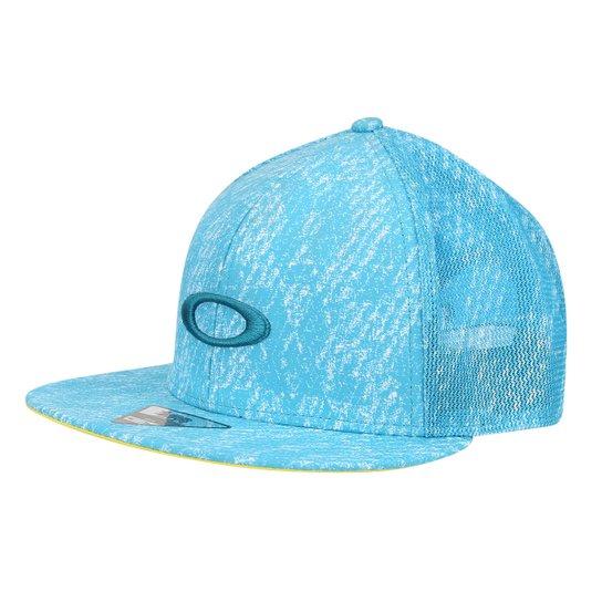 Boné Oakley Aba Reta Mod Mesh Sublimated Hat Masculino - Azul ... 8caecc4011d72