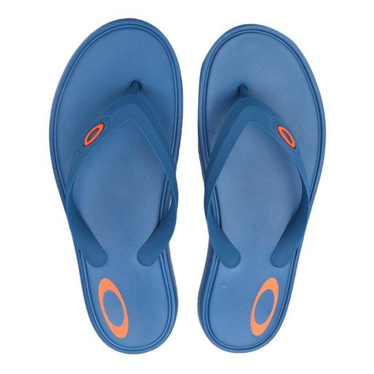 ea1968529 Chinelo Oakley Splash Masculino - Azul | Netshoes
