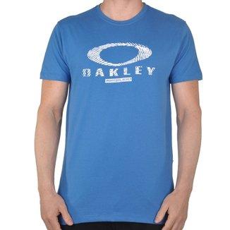 Camiseta Oakley Finger Print Logo 7d0b879549