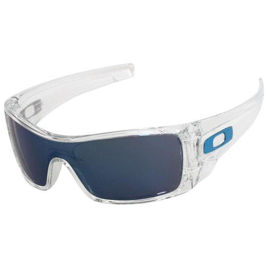 5d378bb961213 Óculos Oakley Batwolf Mate Clear Lente Ice Iridiu - Compre Agora ...