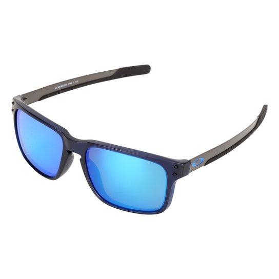 Óculos de Sol Oakley Holbrook Translucent Mix - Azul - Compre Agora ... 631a5531c3