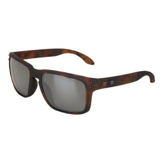 3b5aa9b2d Óculos de Sol Oakley Holbrook Prizm Tartaruga Masculino