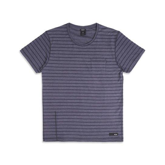 7bccce3c1 Camiseta Oakley Especial Cold Striped Sp Tee - Azul - Compre Agora ...