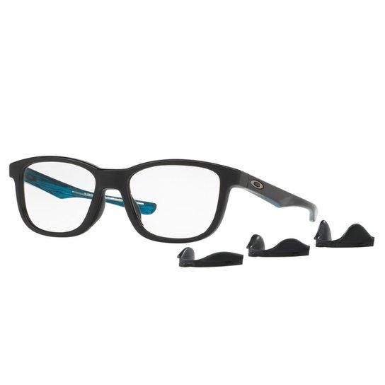b9e48787b6c61 Óculos Oakley de Grau Cross Step Masculino - Azul - Compre Agora ...