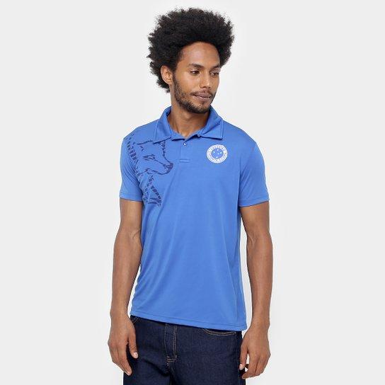 fc2f485861 Camisa Polo Cruzeiro Fox Lines Masculina - Compre Agora