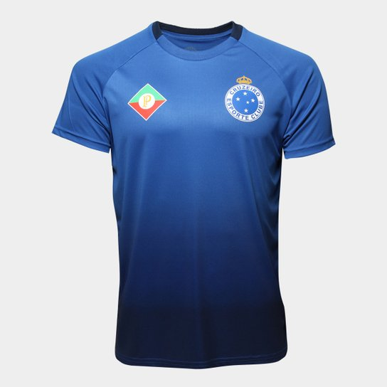 Camisa Cruzeiro 2009 s nº Masculina - Azul - Compre Agora  3a3d255674215