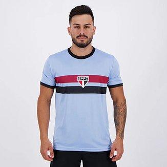Camisa São Paulo Celeste Masculina 49cde8cccd49a