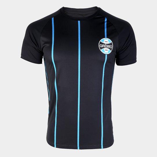 Camisa Grêmio 1956 s n° Masculina - Azul e Preto - Compre Agora ... e1561f6df25cb
