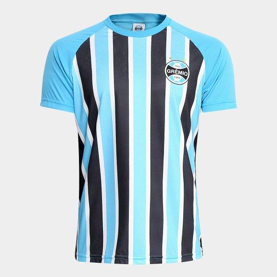Camisa Grêmio Stripes Masculina - Azul - Compre Agora  e65c7affb6788