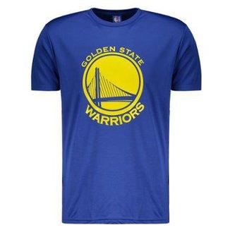 Camiseta NBA Golden State Warriors Royal Masculina ce5a51120bb