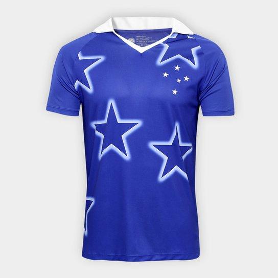 da8607ef04 Camisa Cruzeiro 1997 s n° Masculina - Azul - Compre Agora