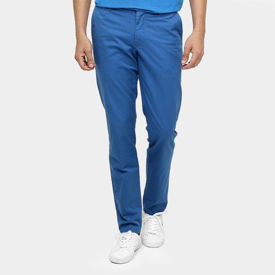 Calça Sarja Lacoste Chino Slim - Compre Agora   Netshoes f116c975a8