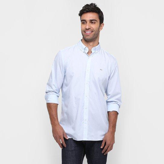 e976ae3b2d974 Camisa Lacoste Classic Fit Listrada - Compre Agora   Netshoes